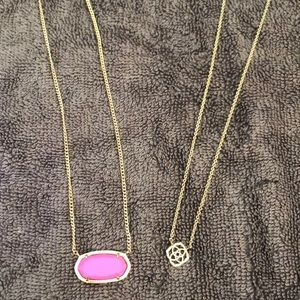 Kendra Scott necklaces (2)